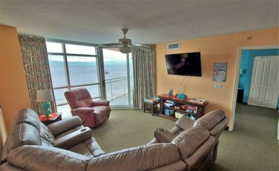Photo for Beautiful 3 Bedroom Oceanfront Condo in the Cherry Grove Area