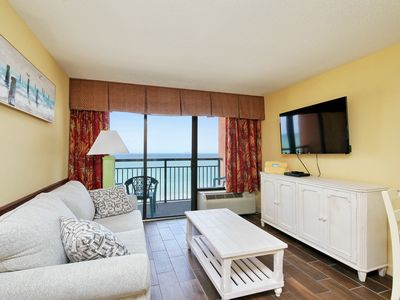 Photo for Breathtaking Views oceanfront 1bd Condo on the Golden Mile 6/6-6/10 $105/N