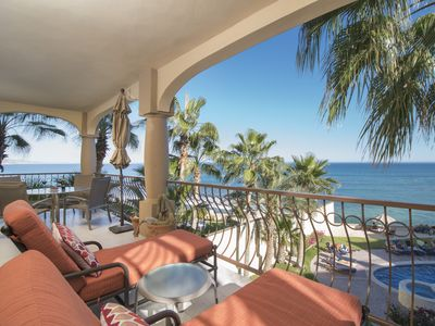 Photo for This is the life! Great surf spot.  Spectacular view. Renovated oceanfront condo