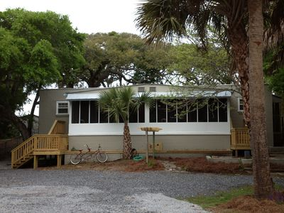 Relax On A Quiet Marshfront Cove 2 Sister Units Bdrm Or 4 Bedroom Apartment In Folly Beach