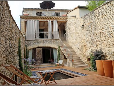 Photo for UZES Village House Very nice Renovation 6 Pers Basin 4x2 Swimming C Current