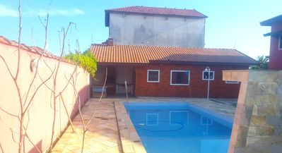 Photo for HOUSE OF BEACH ITANHAÉM WITH SWIMMING POOL VIEWS TO THE SEA