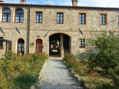 Photo for Typical former farmhouse of Tuscany, apartment Q8