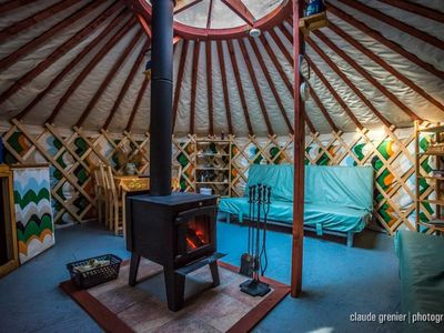 Photo for Hebergements aux Cinq Sens - The Yurts