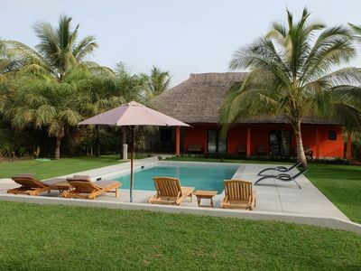 Photo for Villa with pool near the ocean, located in a beautiful residence.