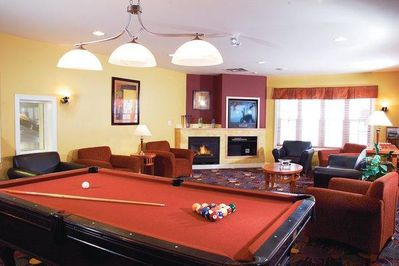 Carriage Ridge Resort Game Room.
