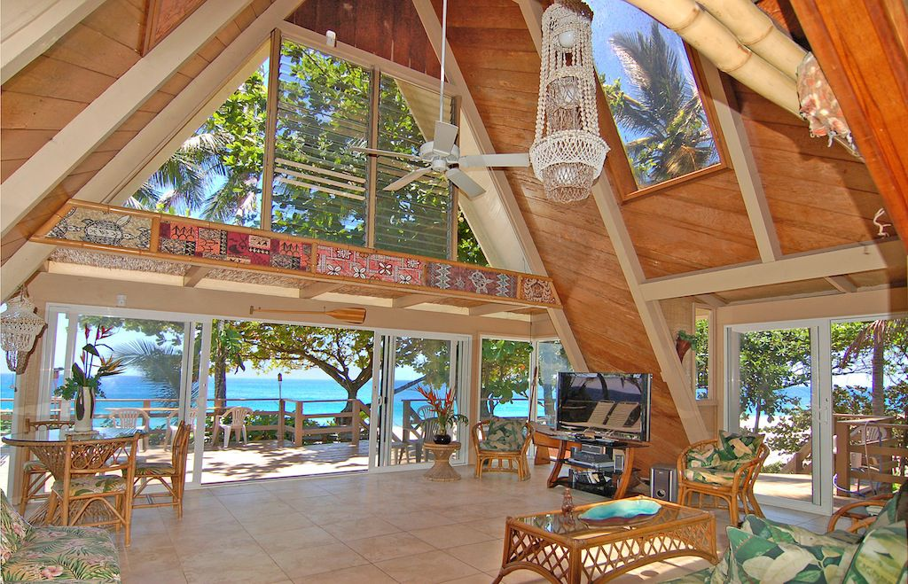 The sunset beach house oahu 39 s favorite vrbo for North shore cabin rentals