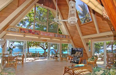 Located Directly On The Beach A C And Spa The Fabulous Sunset Beach House Haleiwa