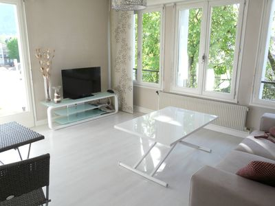 Photo for Annecy - 2 bedroom apartment 60m² + balcony - 250m walking distance from lake