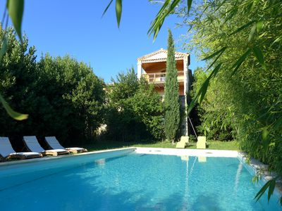 Photo for House of charm and character in Provence, private swimming pool