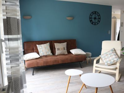 Photo for House bungalow 15min walk from the sea in Veules-les-roses