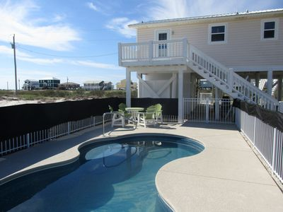 Photo for Book now for Spring & Summer. Gulf views, private pool, elevator.