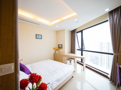 Photo for Rosy 5★ Royal City Hanoi ♥Luxury 3 BR Apt-King bed