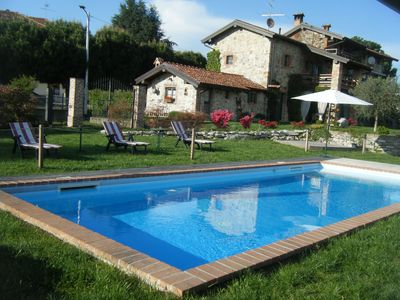 Photo for In Vecchio Casale near Lake Maggiore with swimming pool