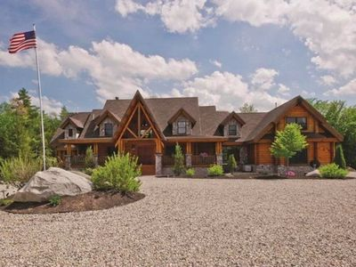 Photo for Luxury Lakefront Home on 155 Private Acres: Family Reunions, Weddings, Events