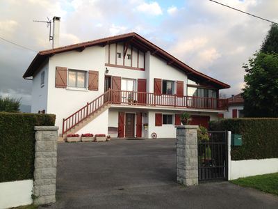 Photo for 80 m2 apartment in a house on the outskirts of saint jean pied de port