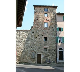 Photo for Nice apartment for 4 guests with WIFI, A/C, TV and panoramic view, close to Greve In Chianti