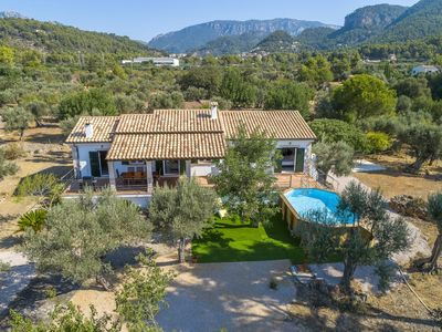 Photo for YoruHouse Ca Na Barons - finca with pool in the Tramuntana for 8 people