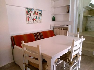 Photo for Private Sea View apartment in the heart of Mykonos Town