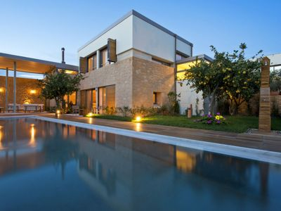 Photo for 3 bedroom Villa, sleeps 7 in Kontomári with Pool, Air Con and WiFi