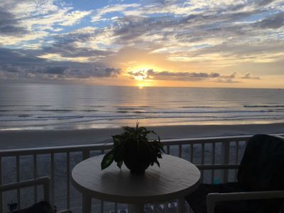 Photo for Oceanfront Studio-Balcony-Best View-Location & Price