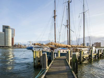 Photo for In winter the Catherina is moored in Rotterdam