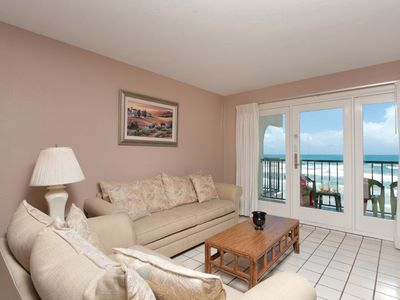 Photo for Florence I 704 - Oceanfront Condo in Premier Location, Private Balcony, Beachfront Pool & Spa