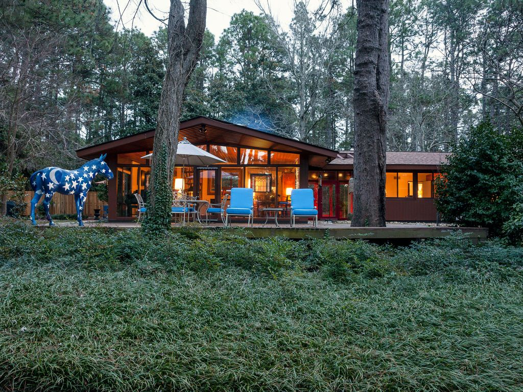 Top Of The Hill Private MidCentury HomeAway Southern Pines - And architectural cottages on secluded private pond homeaway