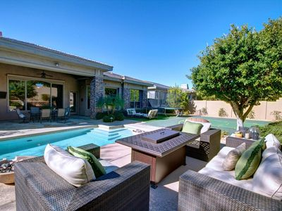 Photo for Grayhawk! Luxury Upgraded Avante Home, New Modern With Casita, Basketball Court
