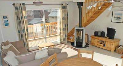 Photo for Nice flat foot of the slopes, 8 people - Chantemerle - Serre Chevalier 1350