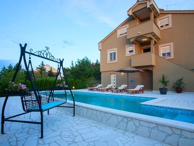 Photo for Villa Kontrada with pool for 9 guests, Zadar
