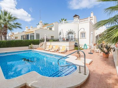 Photo for 32.Spacious Detached Villa, Playa Flamenca, Alicante, Costa Blanca, Spain