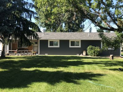 Photo for Large open concept home on an acre. Close to Rimrock Arena
