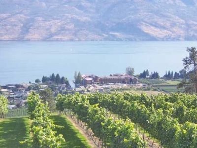 Photo for Luxury on Okanagan Lake Located in  Front of World Class Wineries