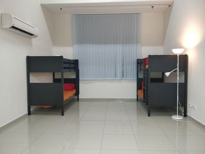 Photo for KJ Group Space (Air Conditioned, Connects to Airport, Fast WiFi, Near Amenities)