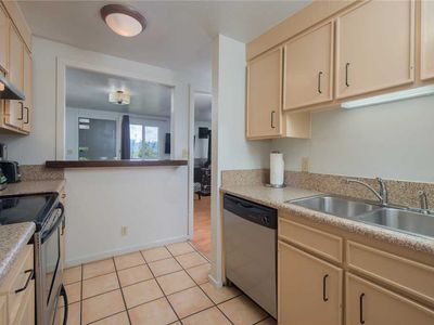 Photo for A modern 1.5 bedroom condominium walking distance to the base of Teton Village
