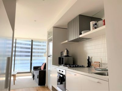 Photo for Spacious one bedroom apartment located close to everything Melbourne has to offer!