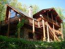 Covered deck / balcony off master suite / loft and huge wrap-around deck