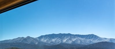 Unobstructed views of Mount Leconte