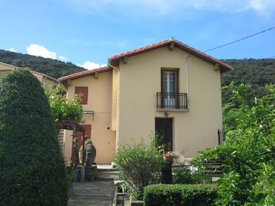 Photo for On the heights of CERET house in a green and beautiful point of view