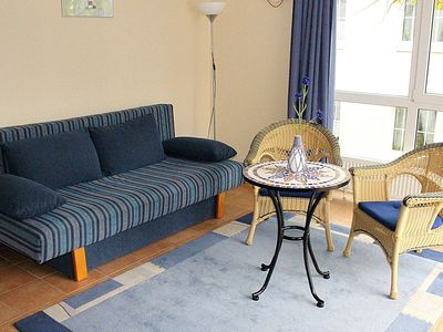 Photo for Obj. 23-beach-close apartment f. 2 pers. with roof terrace - Obj. 23-Strandnahe Fewo f. 2 pers. with roof terrace, wifi