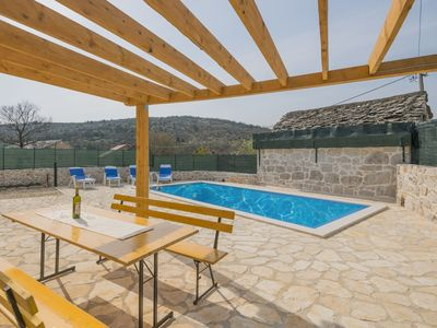 Photo for ctim272- Renovated old stone house with swimming pool, 8 + 2 persons, barbecue, free wifi