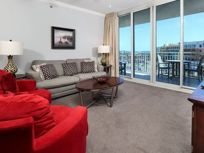 Photo for 5th Floor Elegant, Spacious Condo At Waterscape! Waterfall, Lazy River