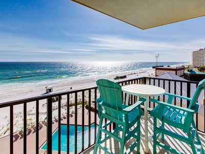 Photo for ☀BeachFront @ Pelican Walk 510 sleeps 6☀FAB Views! WOW! Sep 27 to 29 $570 Total!