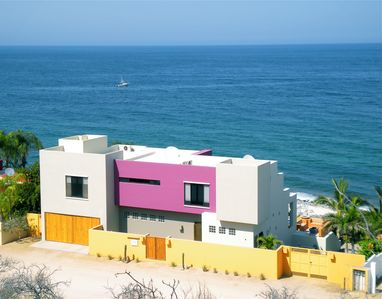 Photo for Mexican Contemporary Beachfront Home with Infinity Pool