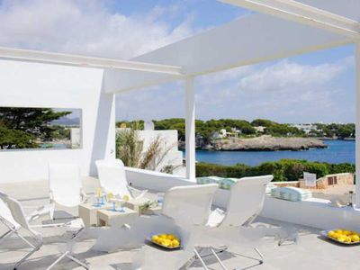 Photo for 4 bedroom Villa, sleeps 8 in Cala Egos with Pool and WiFi