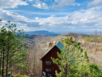 Photo for NEW TO MARKET! Breathtaking Mountain View's. Close to Gatlinburg, Pigeon Forge.