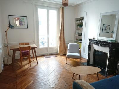 Photo for Beautiful family apartment in the heart of Batignolles