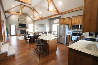 Welcome to BellHaven! Main level entry. Huge open floorplan for large gathering