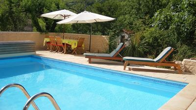 Photo for Beautifully restored large winemakers house with pool and air conditioning